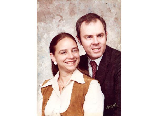 Mark and Cynthia ca. 1990