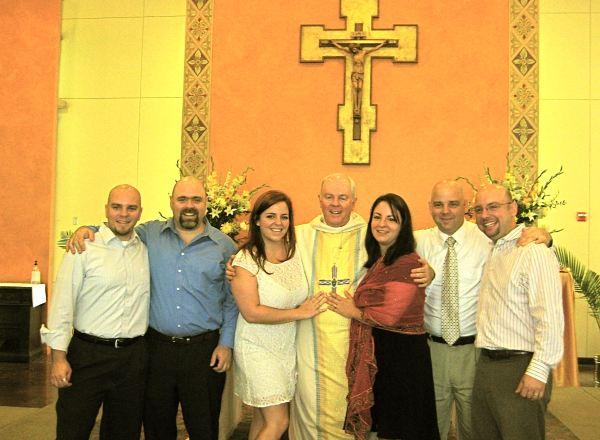 First Mass - with my children
