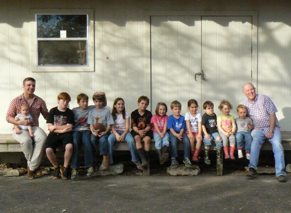 Grandkids Thanksgiving 2012